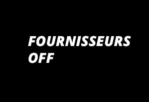 Fournisseurs OFF